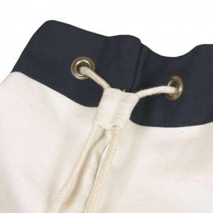 CANVAS Tasche SEGELTASCHE Navy Weiß weiss