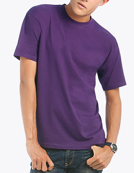 T-Shirt berdrucken B&C Exact 190