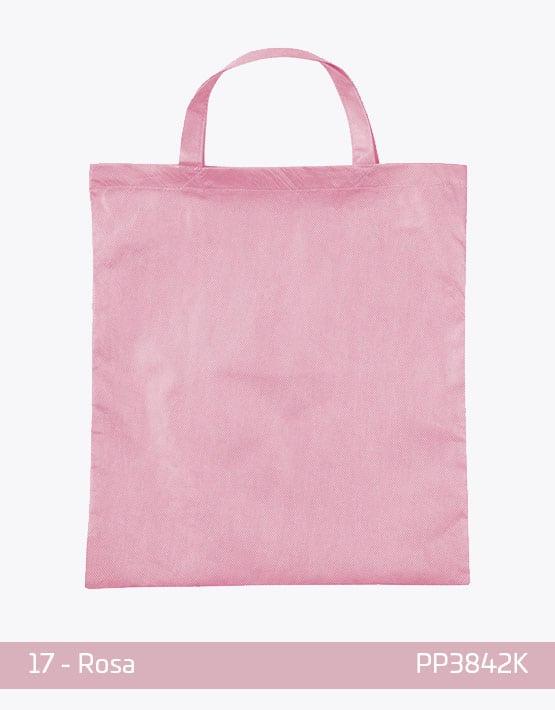 PP Tasche Rosa kurze Henkel