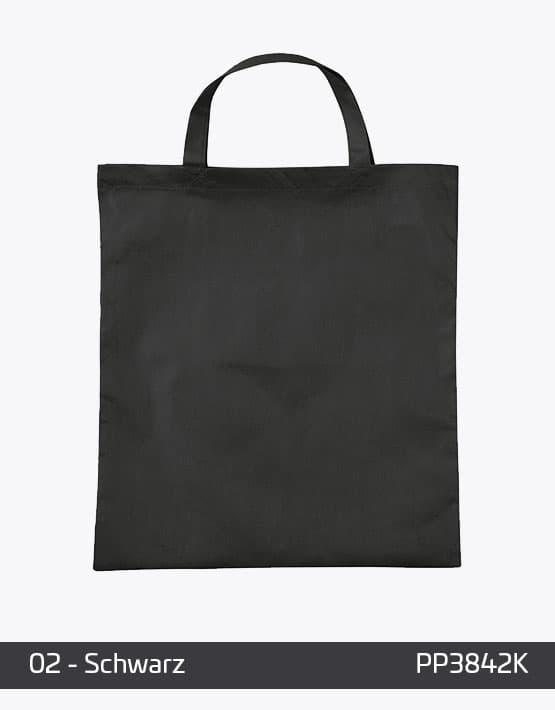 PP Tasche Schwarz kurze Henkel
