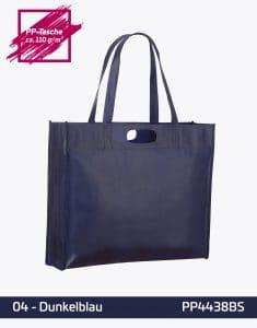 PP Tasche dunkelblau City Shopper 1 lange Henkel 44x38x10cm