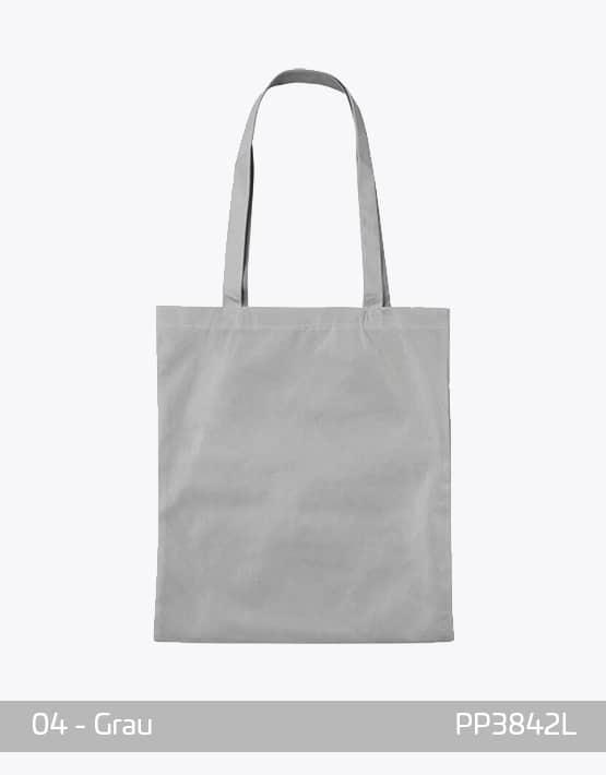 PP Tasche lange Henkel Grau