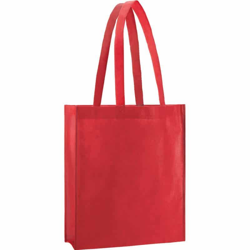 PP Tasche City Bag 2 mit langen Henkeln in Rot | Druckerei Dorsten.de