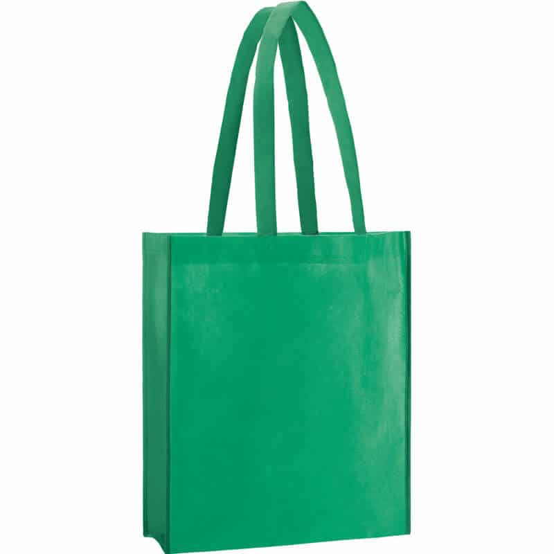 PP Tasche City Bag 2 mit langen Henkeln in Dunkelgrün | Druckerei Dorsten.de