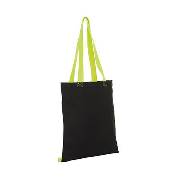 Hamilton Shopping Bag LB01683 Black Neon Lime