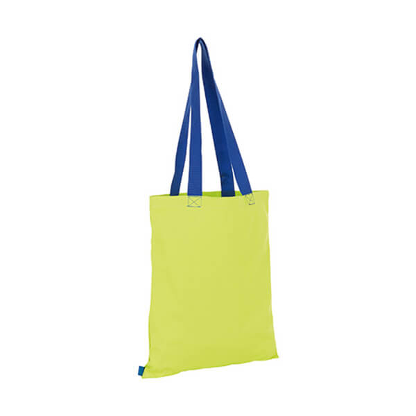 Hamilton Shopping Bag LB01683 Neon Lime Royal Blue
