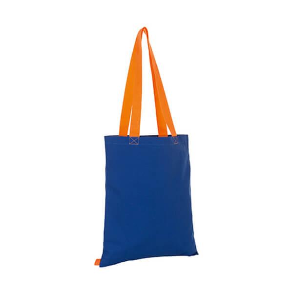 Hamilton Shopping Bag LB01683 Royal Blue Orange