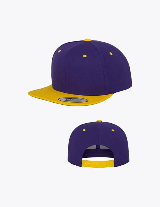 Caps bedrucken und besticken Classic Snapback in 2 Farben
