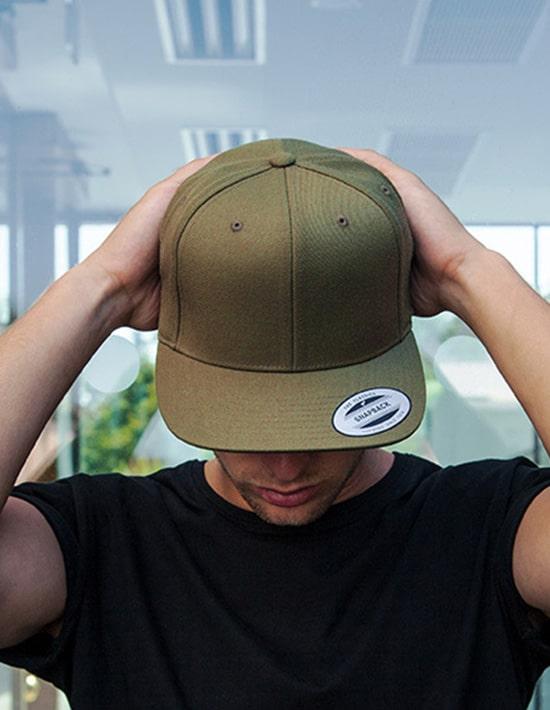 Caps bedrucken und besticken Flexfit Classic Snapback