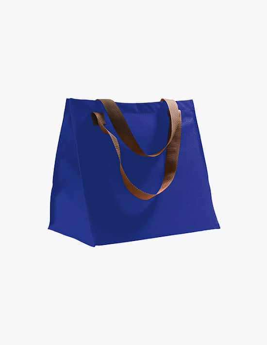 Shopping Bag Marbella Ultramarine