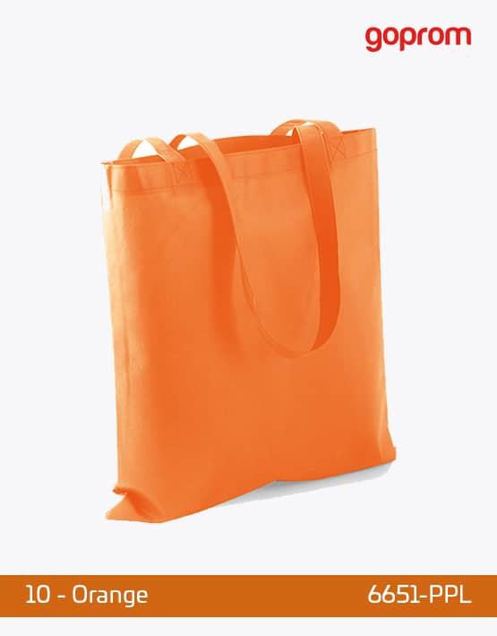 PP Non-Woven Tasche Range lange Henkel