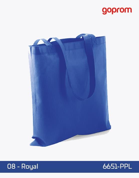 PP Non-Woven Tasche Royal lange Henkel