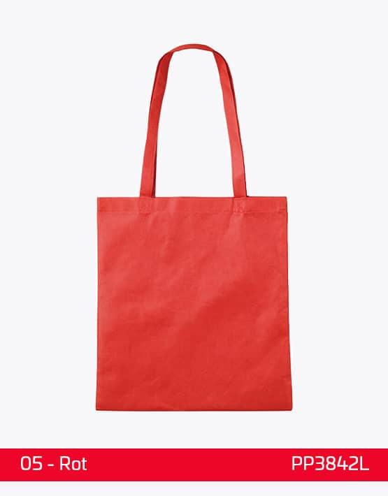 PP Tasche lange Henkel Rot