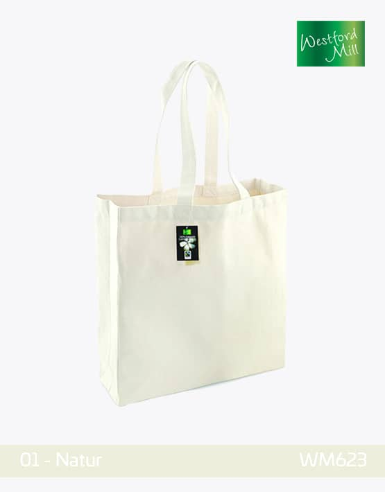 Westfrod Mill Cotton Shopping Bag Natur