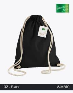 EarthAware Organic Gymsac WM810 Black