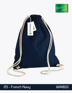 EarthAware Organic Gymsac WM810 French Navy