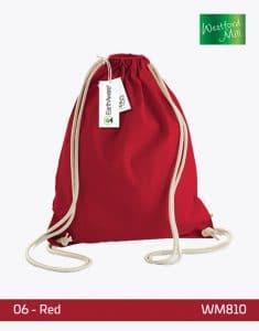 EarthAware Organic Gymsac WM810 Red