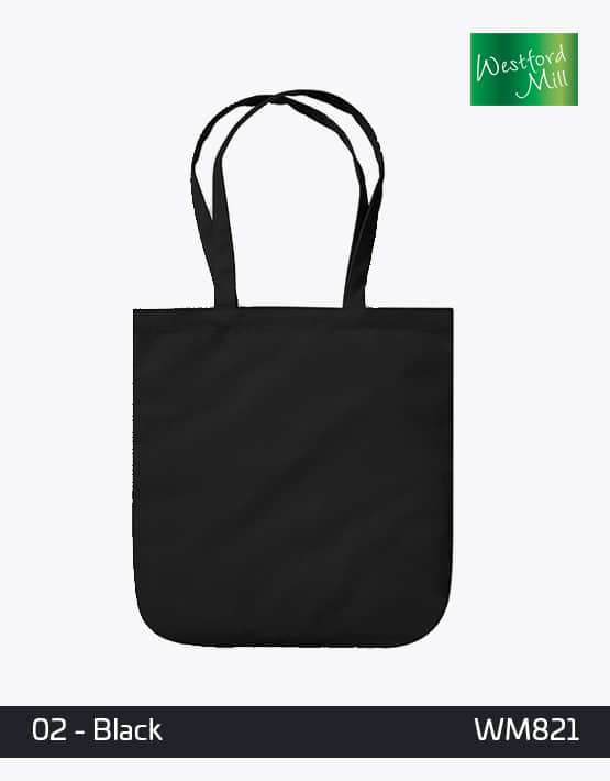 WESTFORD MILL ORGANIC SPRING TOTE BAG W821 Black