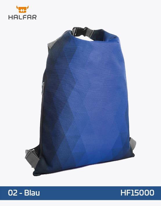 Backpack Diamond Blau Rucksack 35x50cm