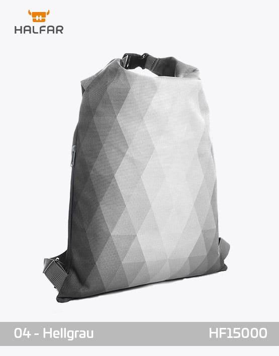 Backpack Diamond Hellgrau Rucksack 35x50cm
