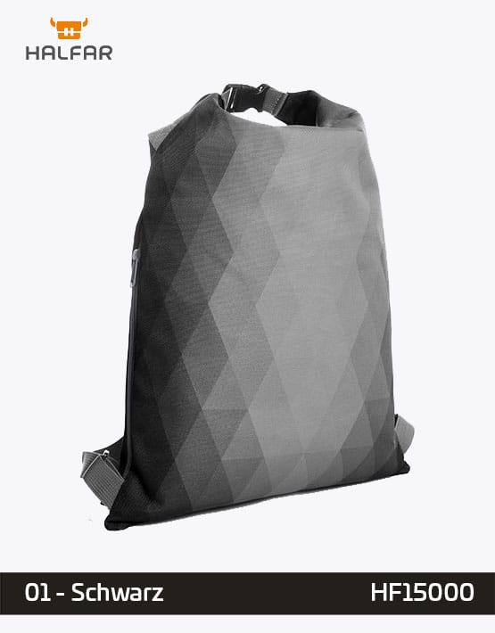 Backpack Diamond Schwarz Rucksack 35x50cm