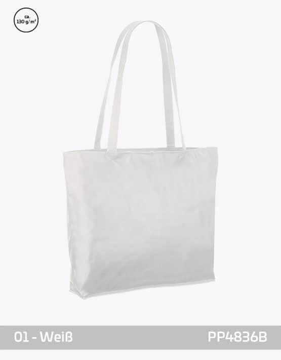 PP Tasche weiss City-Bag 2 48 x 36 x 10 cm