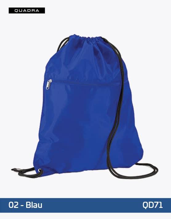 Premium Gymsac Blau 40 x 49 cm