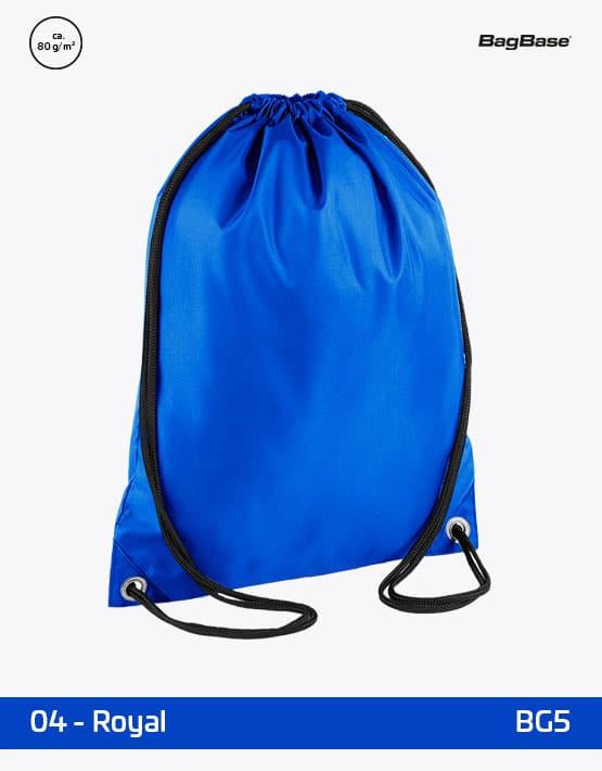 Rucksack Budget Blau PP 33x45 cm