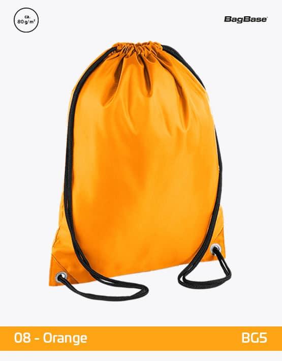 Rucksack Budget Orange PP 33x45 cm