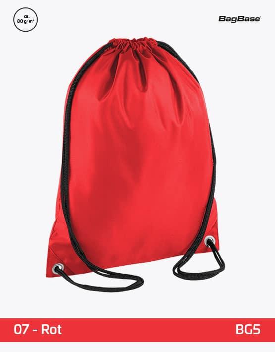 Rucksack Budget Rot PP 33x45 cm