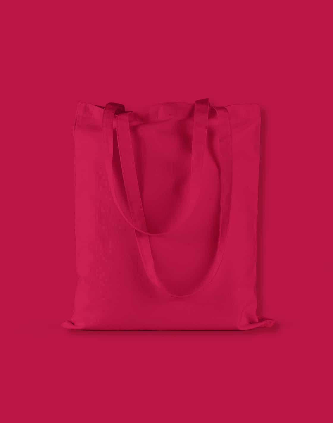 baumwolltaschen bunt classic red lange henkel 38x42cm