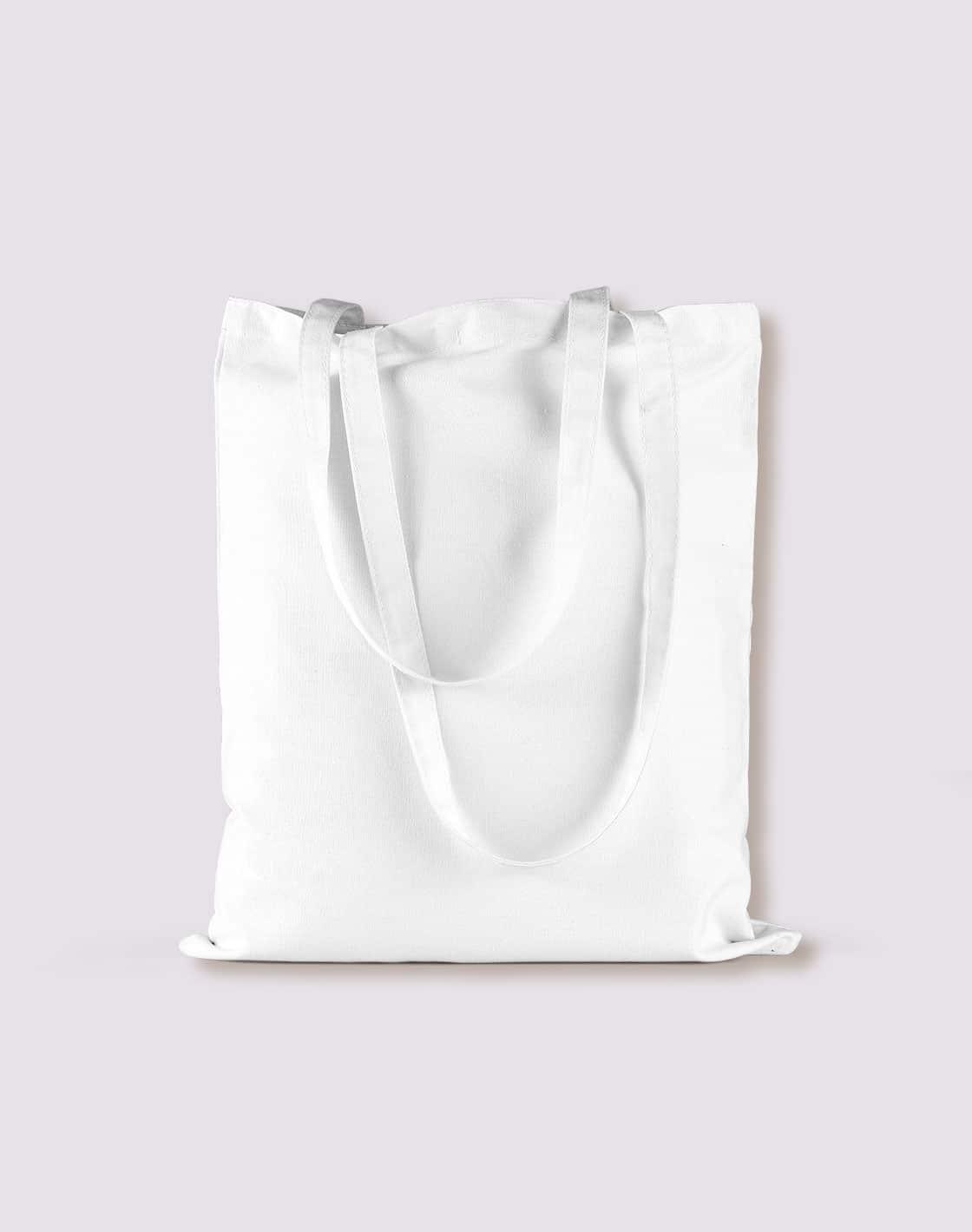 baumwolltaschen bunt white lange henkel 38x42cm