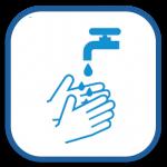 hände waschen icon