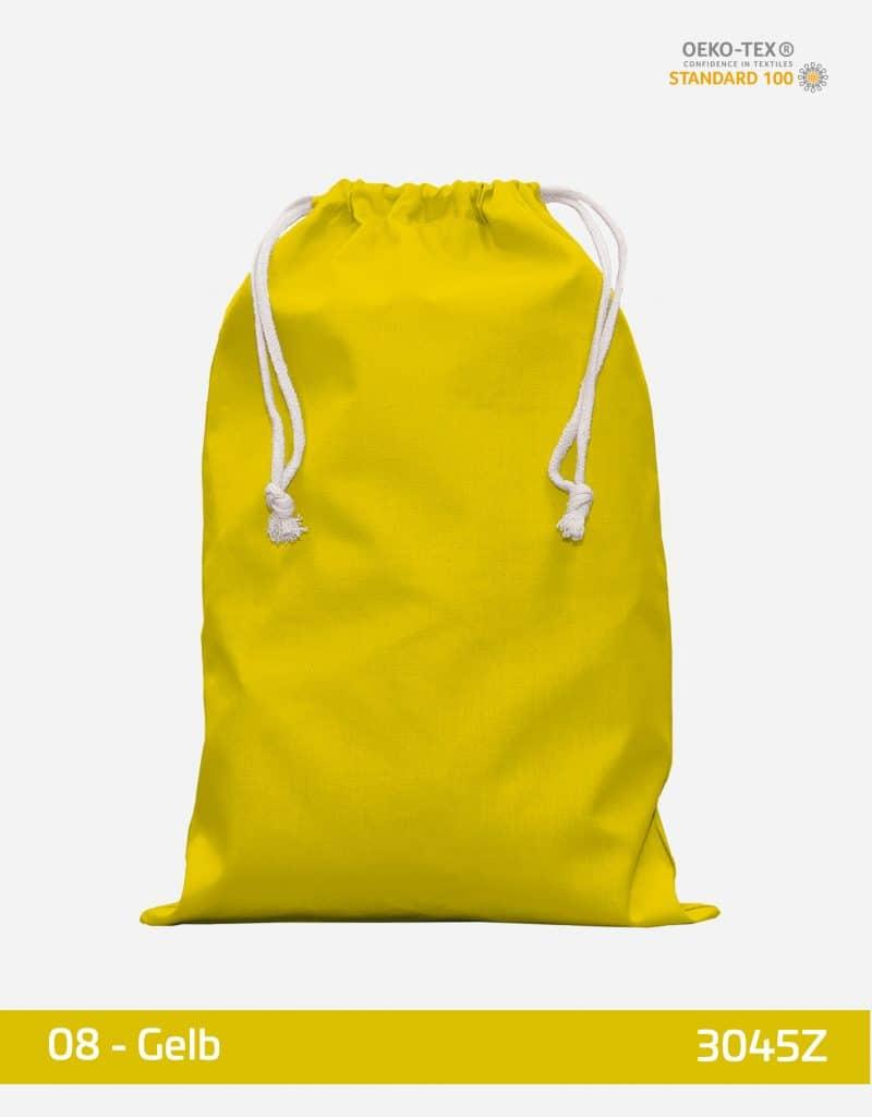 zuziehbeutel 30 x 45 gross gelb