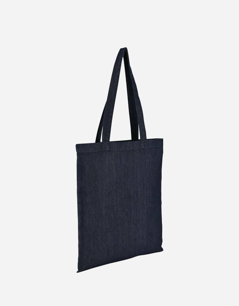 jeanstasche einkaufstasche lange henkel 38 x 42 cm