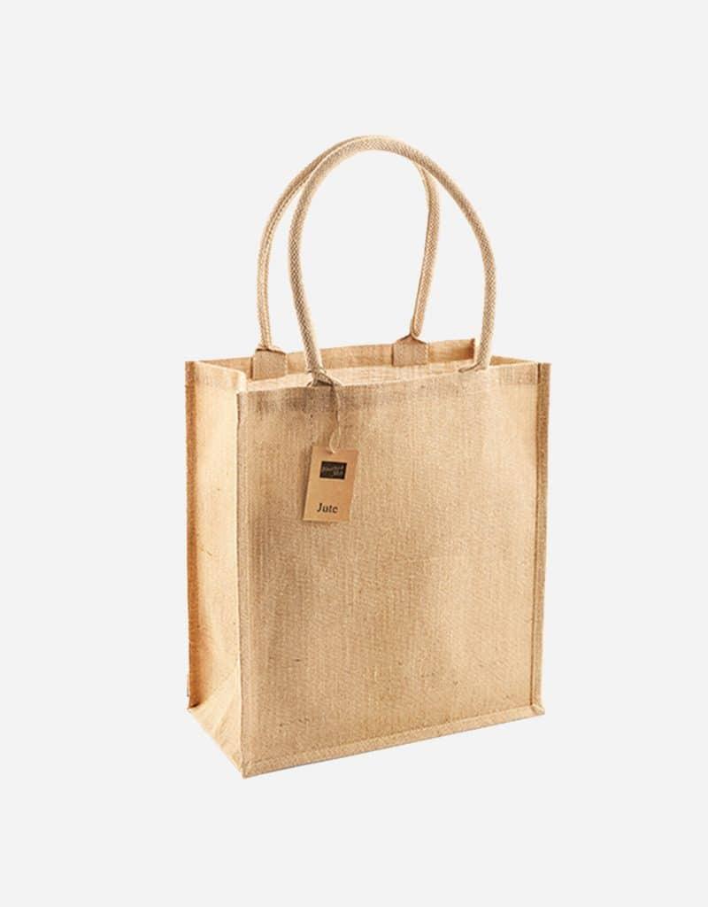 jutetasche boutique shopper 36 x 42 x 17 cm natur
