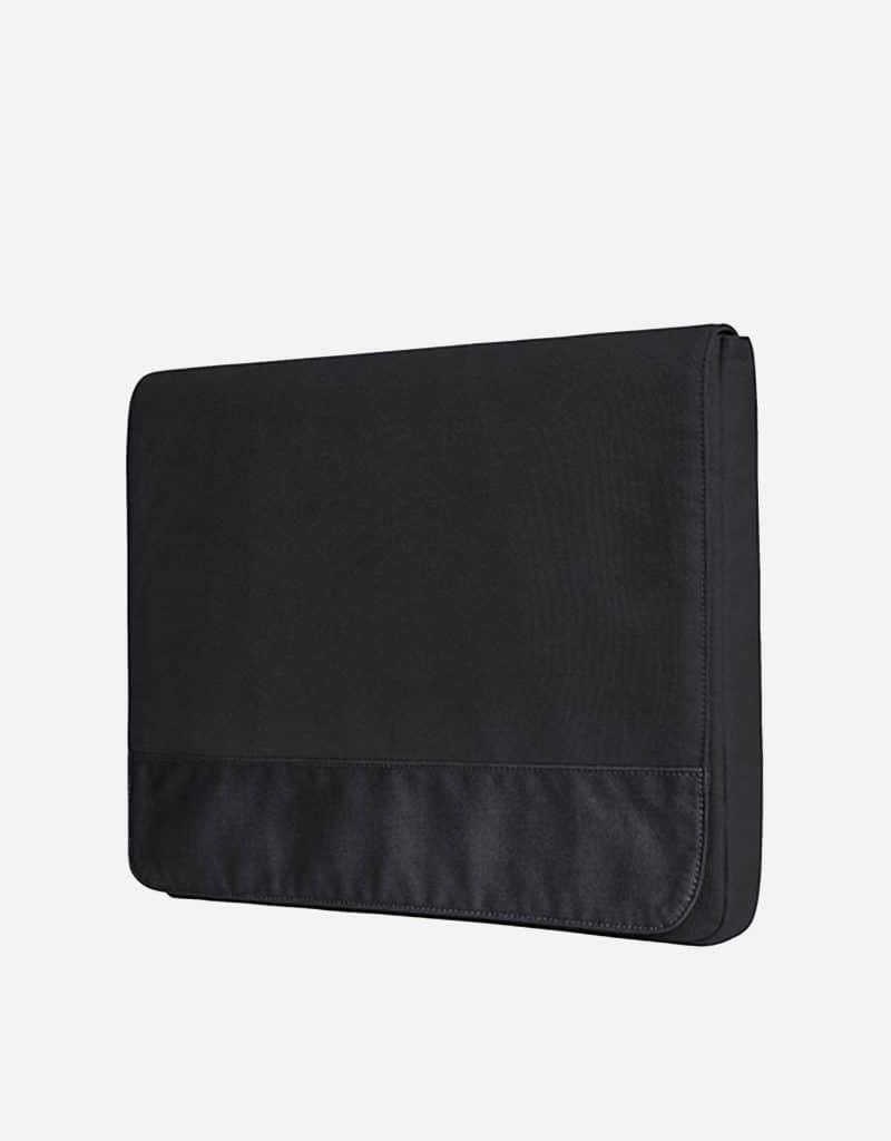messenger bag mit magnet verschluss 39 x 29 x 3 cm black black