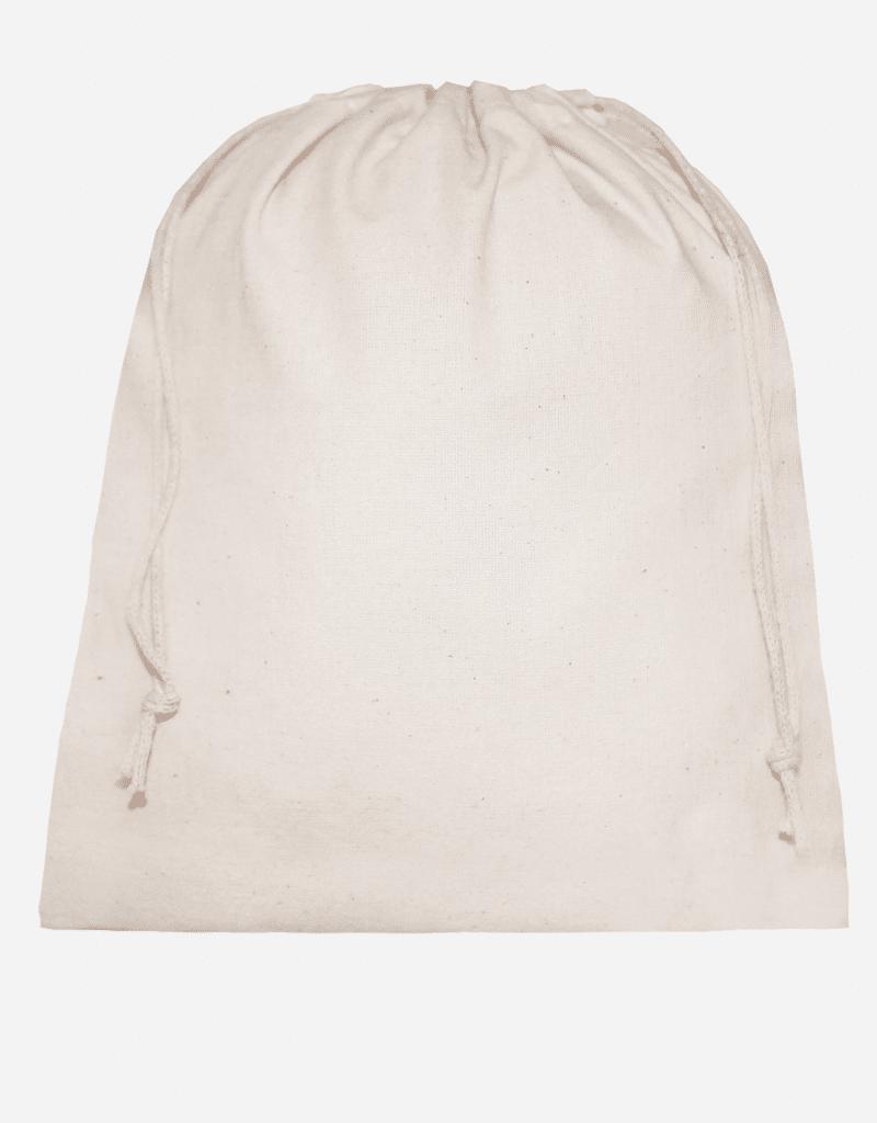 zuziehbeutel bio baumwolle natur m 25 x 30 cm